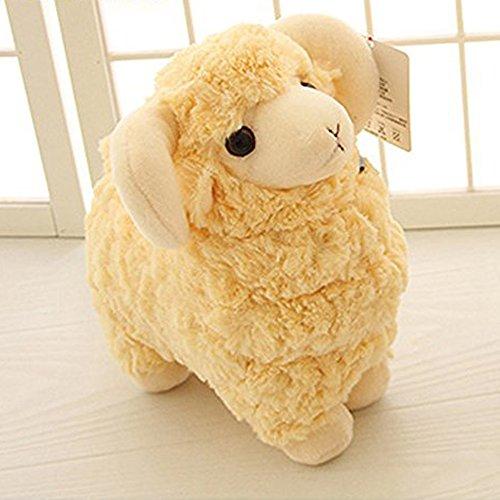 LUCKSTAR(TM) Off-white 28CM Lovely Soft Sheep Goat Animal Stuffed Plush Doll Toy Birthday Gift Home Decoration