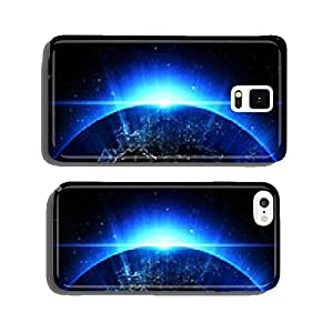 Planet Earth in universe, space, galaxy in a nebula cloud cell phone cover case Samsung S5