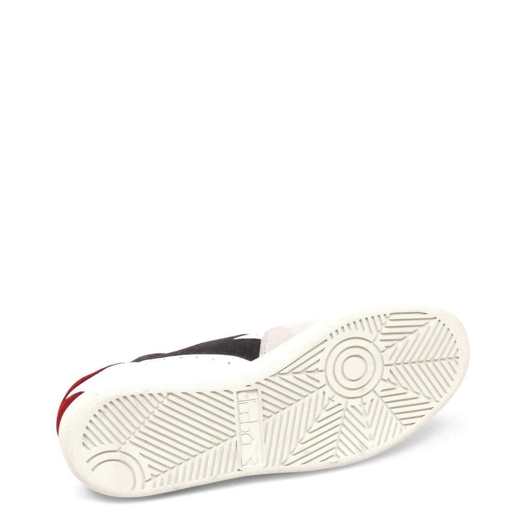 Calzature Uomo DIADORA b.elite sl sneakers in pelle e suede con riporti in pelle scamosciata, suola in gomma ed EVA, plantare in pelle non estraibile