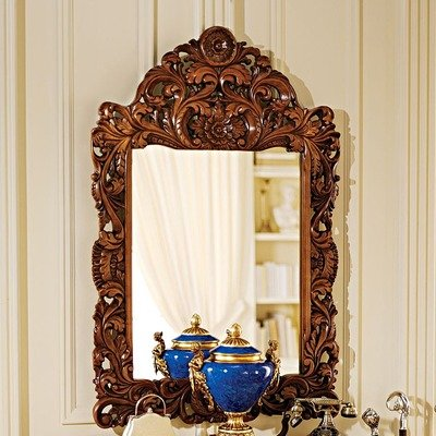 Design Toscano Chateau Gallet Mirror by Design Toscano