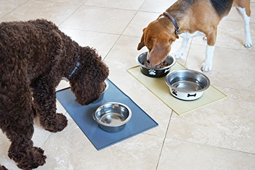 Snug-Pet-Feeding-Mat-for-Dog-and-Cat-In-Premium-FDA-Grade-Silicone-Size-19-x-12-Grey