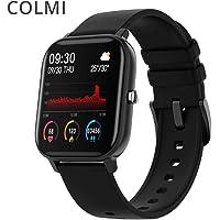 "Smartwatch Colmi P8 Inteligente Bluetooth, Tela 1,4"" HD 240x240 2.5D, Ipx7, Monitoramento Diversos (Preto)"