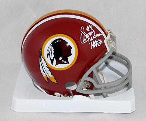 Sonny Jurgensen #9 Signed Redskins 72-77 TB Mini Helmet W/ HOF- JSA W Auth WHT