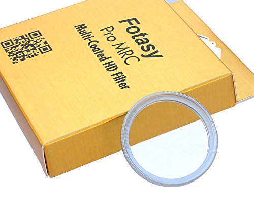 Nano Coatings MRC Multi Resistant Coating Oil Water Scratch Fotasy 39mm Silver Ultra Slim UV Protection Lens Filter 16 Layers Multicoated 39mm UV Filter