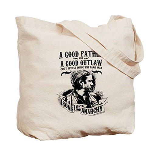 CafePress–Sons Of Anarchy buen Padre–Gamuza de bolsa de lona bolsa, bolsa de la compra