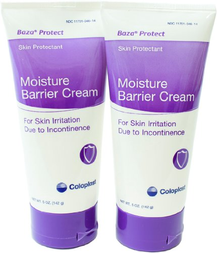 Baza Cream Antifungal Barrier - Baza Protect Barrier Cream 5 oz Tube (Pack of 2) by Coloplast