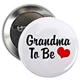 """Best Grandma Pins - CafePress Grandma To Be Button 2.25"""" Button Review"""