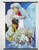 Home Decor Anime Cosplay Inuyasha Sesshomaru Wall Scroll Poster 23.6 x 35.4 inches -025