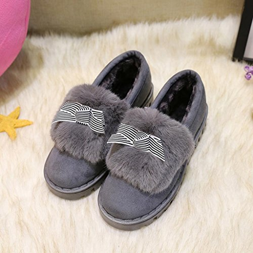 Clode® Stiefel Damen Damen Flache Baumwolle Schuhe Keep Warm Winter Schuhe  Schnee Ankle Boots Schuhe