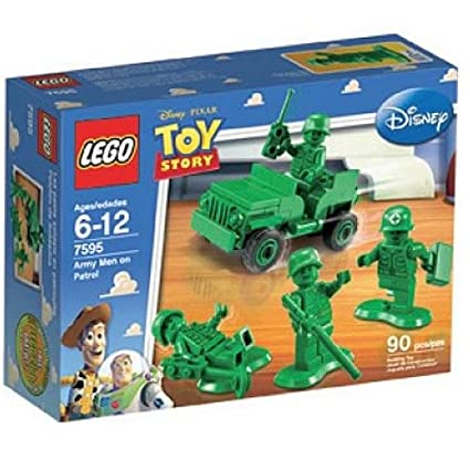 Amazon.com: LEGO Toy Story Army Men on Patrol (7595): Toys & Games