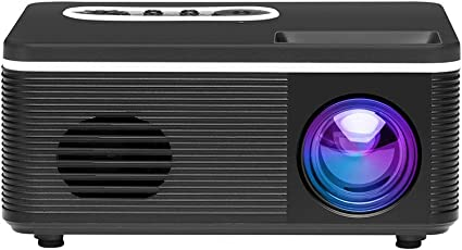 Docooler 1080P Mini HD Proyector Portátil LED Luz USB Puerto AV ...