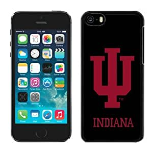 LJF phone case Customized iphone 5/5s Case Ncaa Big Ten Conference Indiana Hoosiers 30