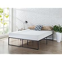 Zinus 14 inch Platforma Bed Frame/Mattress Foundation/No Box Spring Needed/Steel Slat Support, Full