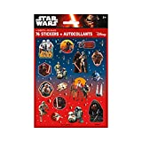 Unique Star Wars The Force Awakens Sticker Sheets, 4-Count