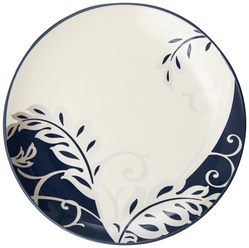 Noritake Colorwave Blue Plume Plate, 8-1/4-inch