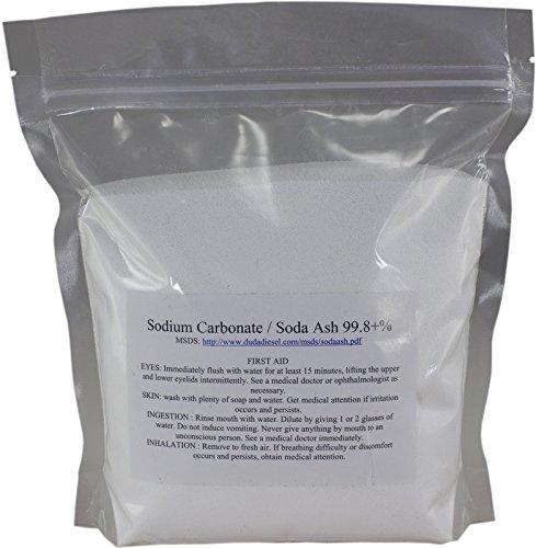 8 oz Pure Sodium Carbonate Dense Soda Ash Na2CO3 pH Adjust Chemical Spa Pool Cleaning Dishwasher (Chlorine Chemical Formula Pool)