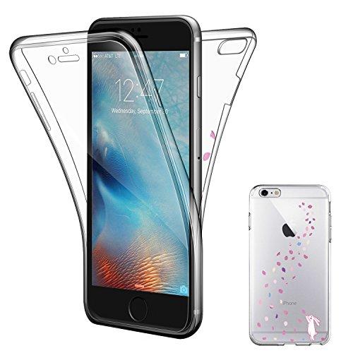 """iPhone 7 Plus Hülle , ivencase iPhone 7 Plus Soft Flex Silikon Handyhülle Ultra Dünn Schlank Bumper-Style Case Cover Kratzfest TPU , Komplettschutz Vorder und Rückseiten , für Apple iPhone 7 Plus 5.5"""""""