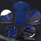 Akilex Men's Tight Sports Short Sleeve Comfortable