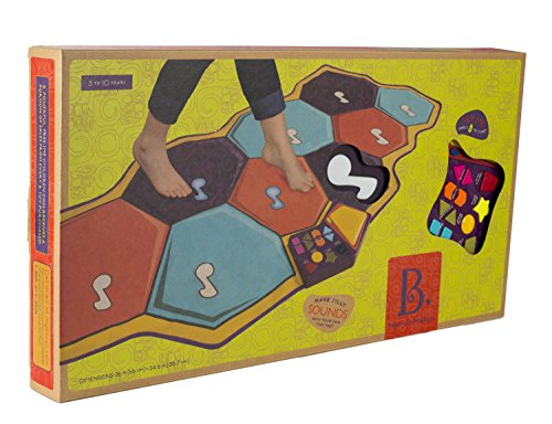 B. Mat-A-Matics Musical Mat - Soft, Fold Away Floor Mat - 3 to 10 Years