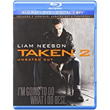 Taken 2 (Unrated Cut) [Blu-ray] (2012)