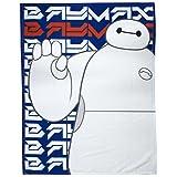 character world Disney Big Hero Six Hiro Fleece Blanket, Multi-Colour by Character World