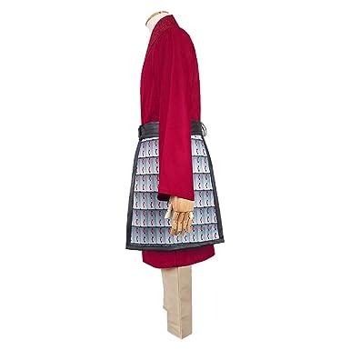 Bofum Disfraz de Hua Mulan para Mujer Vestido de Princesa Heroína ...