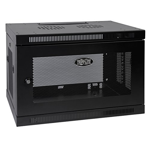 Tripp Lite 9U Wall Mount Rack Enclosure Server Cabinet, 16.5