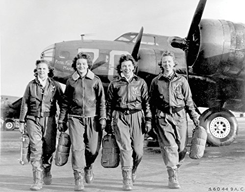 (Women Air Force USAF Service Pilots Poster Art Photo WWII US Military Photos Artwork 11x14)