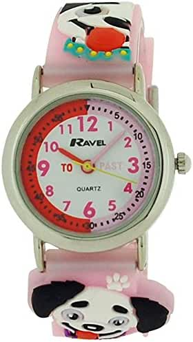 Ravel Time Teacher Kids 3D My Puppy Dog Watch + Telling Time Award R1513.64