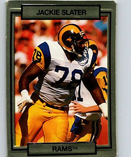 1990 Action Packed #139 Jackie Slater LA Rams NFL Football