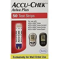 ACCU-CHEK Tiras reactivas Aviva Plus, 50 unidades