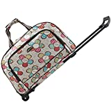 SENLI Luggage Rolling Duffle trolley bag travel bag tote Carry-On Upgraded version