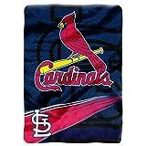 MLB St. Louis Cardinals Speed Plush Raschel Throw Blanket, 60x80-Inch
