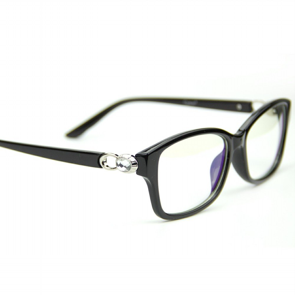 Transparent Lens Anti Eyestrain Headache Vision Protection Computer Glasses Cyxus Blue Light Filter