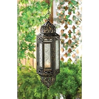 Intricate Hanging Moroccan Lantern