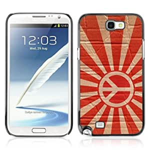 YOYOSHOP [Funny Rising Peace Sign] Samsung Galaxy Note 2 Case
