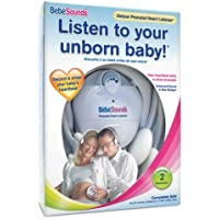 BebeSounds Deluxe Prenatal Heart Listener and Recorder with 2 Headsets