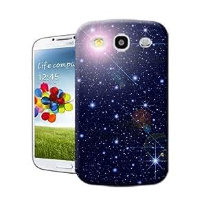 Lavender's shop Starry sky,Blue,TPU Hard Cover Case Samsung Galaxy S3
