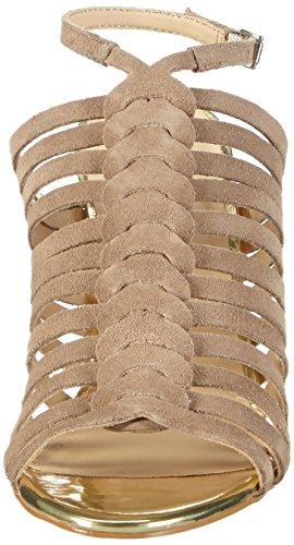 Primafila 42-75523 - Sandalias de tobillo Mujer Gris