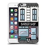 Head Case Designs Barbershop Buildings Protective Snap-on Hard Back Case Cover for Apple iPhone 6 Plus 5.5