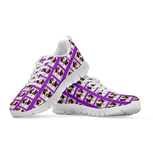 All Your Women's Casual Running Shoes Breed Women's Shoetup Print Sneakers Brittany Choose Pattern Dog TAWaqw