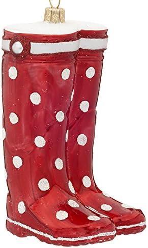 botas de agua en botas de navidad