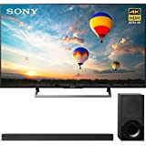 Sony 55-inch 4K HDR Ultra HD Smart LED TV 2017 Model (XBR-55X800E) with Sony 2.1ch Soundbar with Dolby Atmos