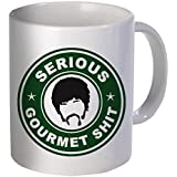 Goddamn, Jimmy. This is some serious gourmet shit - Funny coffee mug by Donbicentenario - 11OZ - SHIPS FROM USA