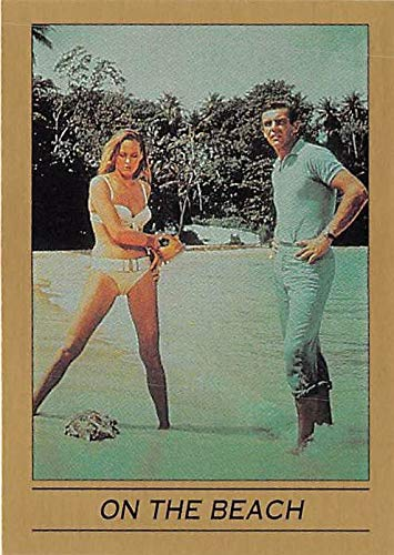 Ursula Andress Sean Connery trading card James Bond 007 1993 Eclipse #11 Dr No Honey Ryder