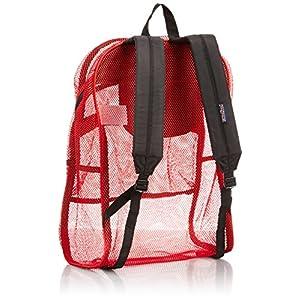 JanSport Antics Series Mesh Pack, Scarlet, High Risk Red