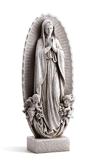 Our Lady Of Guadalupe Resin Home Patio And Garden Statue, 23 1/2 Inch