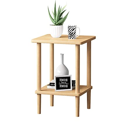Amazon Sofa Small Side Mini Nordic Solid Wood Bed Table Simple
