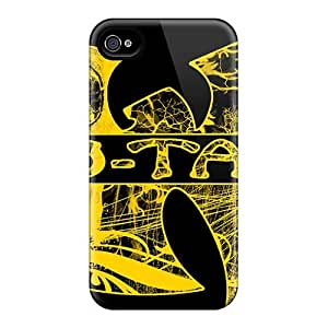 Iphone 4/4s Ads8908amkL Unique Design Lifelike Avenged Sevenfold Pattern Anti-Scratch Hard Phone Cover -AaronBlanchette