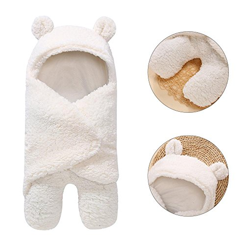 Aolvo Original Swaddle Blankets Newborn Baby Swaddle Wrap - Breathable Plush Cotton Personalized Swaddle Blanket Sleeping Bag Stroller Wrap for preemie Infant Toddler Boys Girls Photography -